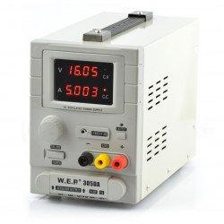 Laboratorní napájecí zdroj WEP 305DA 30V 5A