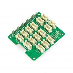 Grove - Base Hat pro Raspberry Pi - štít pro Raspberry Pi 4B / 3B + / 3B