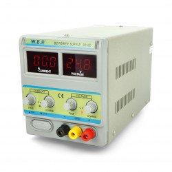 Laboratorní napájecí zdroj WEP 3010D 30V 10A