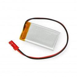 Konektor baterie Li-Pol Akyga 3,7 V 1 S 270 mAh + zásuvka 2,54 JST - 2 piny