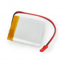 Akyga 3.7V 1S 1500mAh Li-Pol konektor baterie + 2.54 JST zásuvka - 2 piny