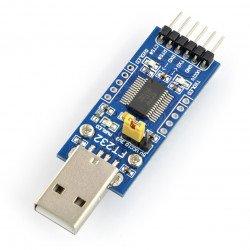 Převodník USB-UART FTDI FT232 - USB zástrčka