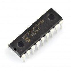 MCP23S08-E / P - 8kanálový expandér SPI pinů