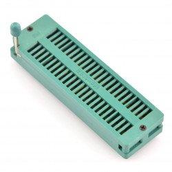 48pin ZIF testovací stojan, rozteč 15,24 mm