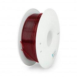 Fiberlogy Easy PET-G vlákno 1,75 mm 0,85 kg - transparentní Burgundsko