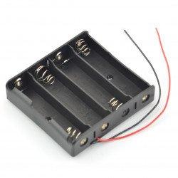 Koš na 4 18650 baterií