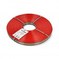 Plochý kabel TLWY - 10x0,75mm² / AWG 18 - vícebarevný - 25m