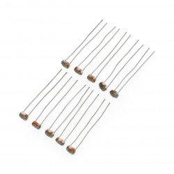 50-100 kΩ fotorezistor GL5539