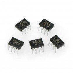 Paměť 1 kB I2C 24LC01B-I / P EEPROM