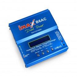 Nabíječka Li-Pol / Li-Fe / Li-Ion / Ni-Cd / Ni-Mh / PB s balancerem Imax B6AC 80W se zabudovaným napájením