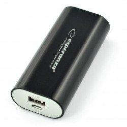Mobilní baterie PowerBank Esperanza Hadron EMP105K 4400mAh