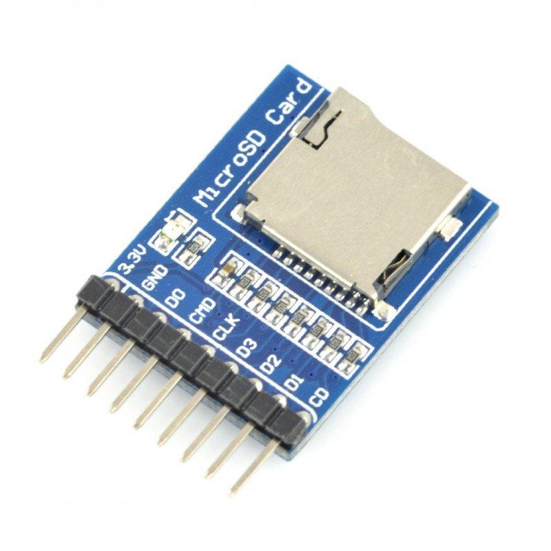 Modul čtečky karet microSD - Waveshare