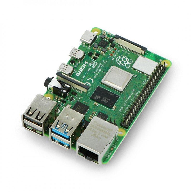 Raspberry Pi 4 model B WiFi DualBand Bluetooth 8 GB RAM 1,5 GHz