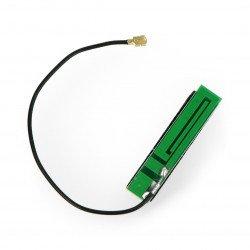 GSM anténa s U.FL konektorem - samolepící - 13cm