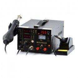 Pájecí stanice 3v1 hotair, hrot + napájecí zdroj WEP 853D s ventilátorem v zadku