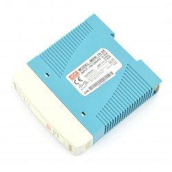 Zdroj Mean Well MDR-10-24 s konstantním napětím pro lištu DIN - 24V / 0,42A