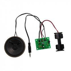 Sada mono zesilovače - sada mono zesilovače s vypínačem a LED diodami - Kitronik 2173