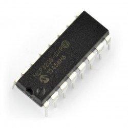 A / C převodník MCP3208-CI / P 12bitový 8kanálový SPI - DIP