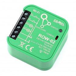 Zamel Supla ROW-02 - 2x 230V WiFi relé - aplikace pro Android / iOS