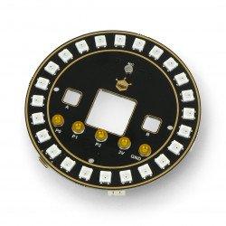 DFRobot - kulatá RGB LED rozšiřující deska pro Micro: bit