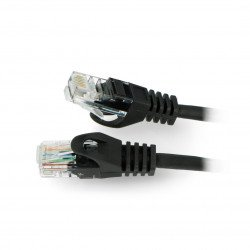 Lanberg Ethernet Patchcord UTP 5e 30m - černý
