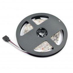 LED pás SMD5050 IP44 7,2 W, 30 LED / m, 10 mm, RGB - 5 m
