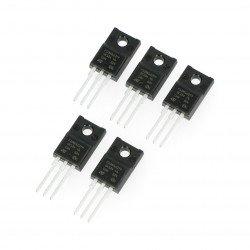 Tranzistor N-MOSFET STP10NK60ZFP - THT - 5ks.