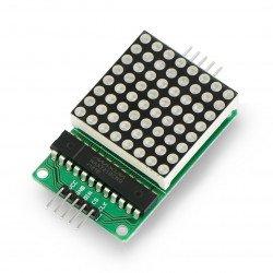 LED matice 8x8 + ovladač MAX7219 - malý 32x32mm