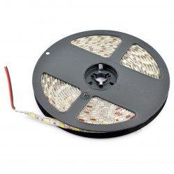 LED pás SMD5050 IP65 14,4W, 60 LED / m, 10mm, teplá barva - 5m