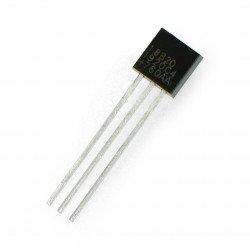 Teplotní senzor DS18B20 - digitální 1-vodičový THT