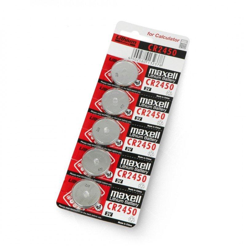 Baterie CR2450 3V Maxell
