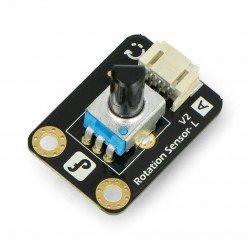 Analogový otočný potenciometr V1 pro Arduino a Raspberry - DFRobot Gravity