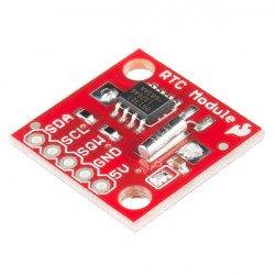 RTC DS1307 I2C - hodiny reálného času + baterie - SparkFun