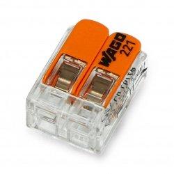2 pin 4mm 32A / 450V samosvorná elektrická kostka