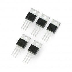 Tranzistor N-MOSFET IRF520NPBF - THT - 5ks.