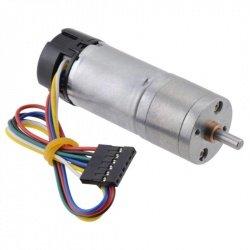 Motor s převodovkou 25Dx54L HP 99: 1 6V 100RPM + kodér CPR 48 -