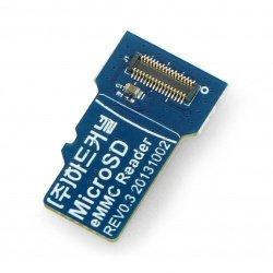 Čtečka paměti microSD EMMC Odroid - pro aktualizaci softwaru