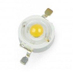 Power LED Prolight Opto PM2E-3LVE-R7 3W - teplá bílá