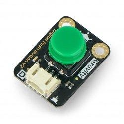 Digitální tlačítko DFRobot Gravity - Tact Switch - zelené