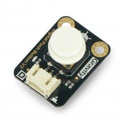 Digitální tlačítko DFRobot Gravity - Tact Switch - bílé