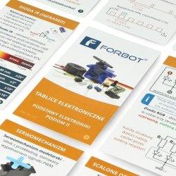 FORBOT - elektronické desky - základy elektroniky, úroveň II