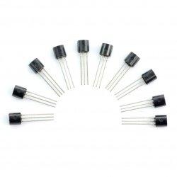 Tranzistor N-MOSFET 2N7000 - 10ks.