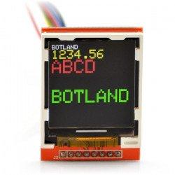 Grafický barevný TFT LCD 1,44 '' 128x128px - SPI