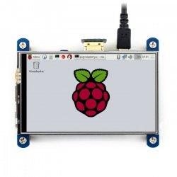 IPS odporová dotyková obrazovka LCD 4 '' 800x480px HDMI + GPIO