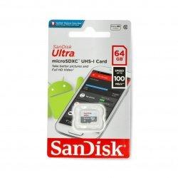 Paměťová karta SanDisk Ultra 533x microSD 64 GB 100 MB / s