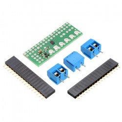 DRV8835 - dvoukanálový budič motoru 11V / 1,2A - překrytí