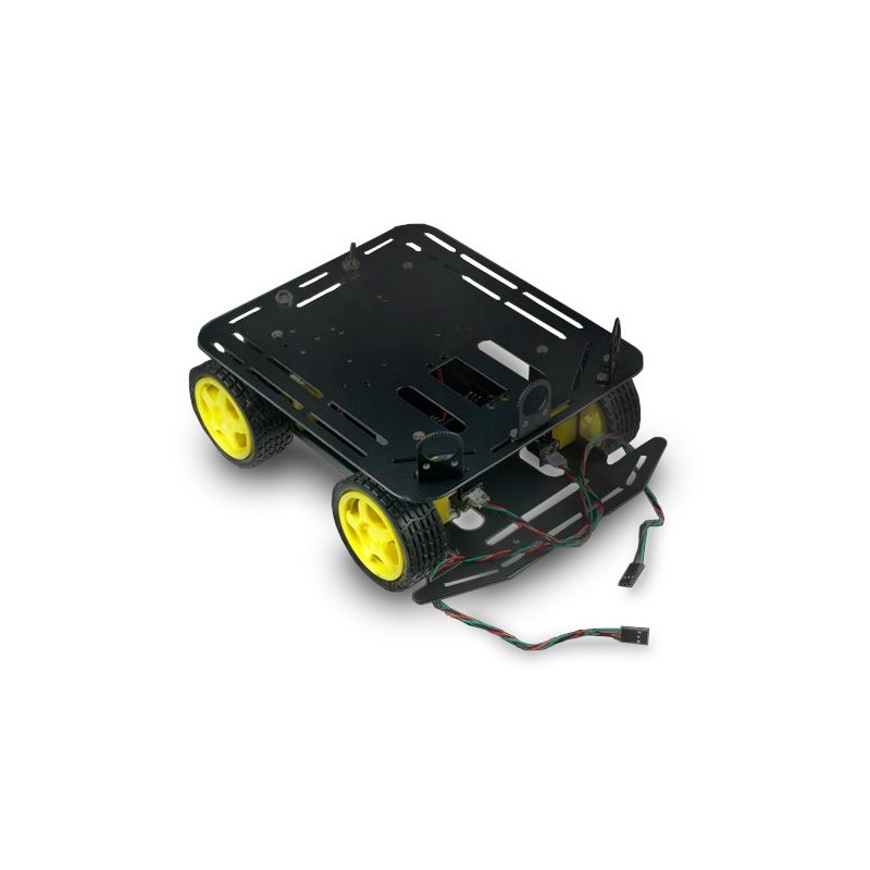 DFRobot Baron 4WD - čtyřkolový robotický podvozek s pohonem