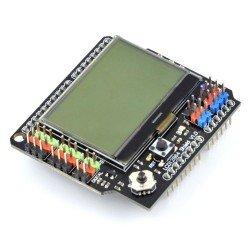 Arduino Shield - klávesnice a displeje