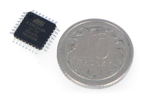 Mikrokontrolér AVR - ATmega 8A-AU SMD
