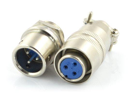 Průmyslový konektor ZP2 s rychlým konektorem - 3pinový.
